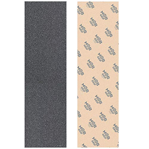 Mob Grip Tape 2 Sheets Skateboard Griptape Clear & Black to Customize Your Deck