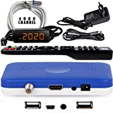 Récepteur Mini Sat hd-line HD-90 — Récepteur Satellite S / S2 ✓Full HD ✓1080 P ✓HDMI ✓2 x USB 2.0 ✓HDTV [Récepteur Satellite Numérique] 🛰️{Astra Hotbird Türksat} 🛰️