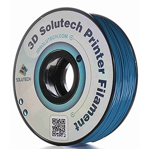 3D Solutech Pastel Blue 3D Printer PLA Filament 1.75MM Filament, Dimensional Accuracy +/- 0.03 mm, 2.2 LBS (1.0KG) - 3DSPLA175PAST