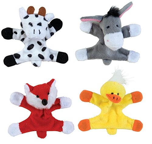 Raymond Geddes Barnyard Locker Buddies Plush Magnet, 12 Pack (68453)
