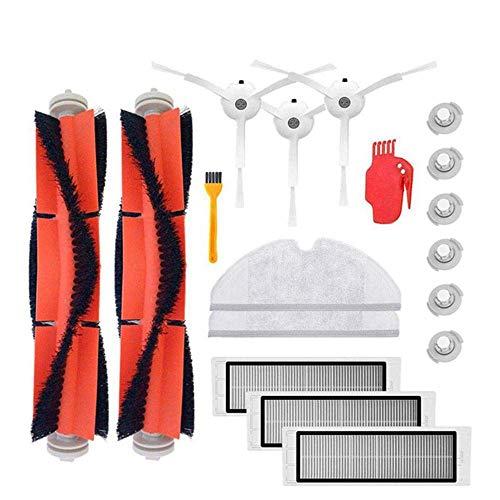 Accesorios para aspiradora Robo2, 18 piezas de repuesto para robot S50 S51 para aspiradora Robo2, kit de accesorios para cuidado del suelo
