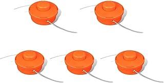 vidaXL 5x Cabezales de Repuesto de Desbrozadora Recambio de Corte de Nylon