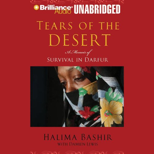 Tears of the Desert audiobook cover art