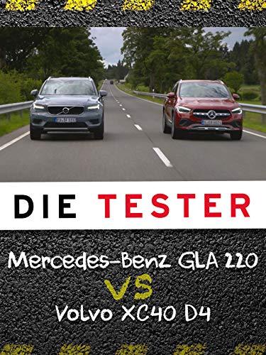 Die Tester: Mercedes-Benz GLA 220 d vs. Volvo XC40 D4