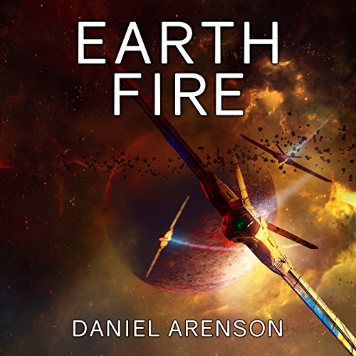 Earth Fire audiobook cover art