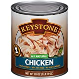 28 oz. can Chicken and Sea Salt Fully cooked--Ready to eat; All Natural--No MSG or other preservatives; No water added; Chunk style--Maintains texture and flavor; Gluten Free; Low in Sodium/Fat; Shelf stable Ideal for chefs (home and restaurant), cam...