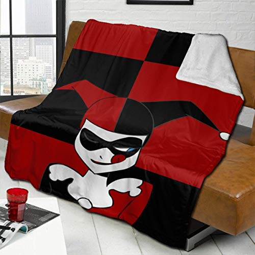 51abZmvDA7L Harley Quinn Blankets