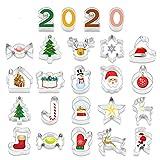 KATELUO 22 Piezas cortadores de Galletas,Cortador de Galletas, para Cookie Cutter Christmas, para...
