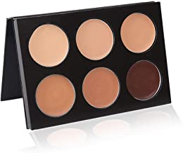 Mehron Makeup Mask Cover 6-Color Palette (Olive)
