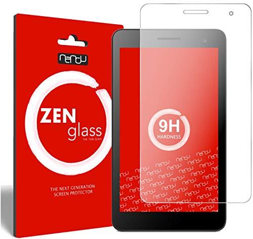 Flexible Glas-Folie kompatibel mit Huawei MediaPad T1 10 Zoll Panzerfolie I Display-Schutzfolie 9H