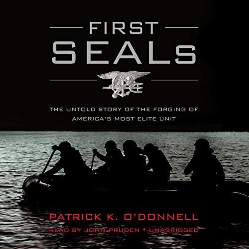 First SEALs audiobook cover art