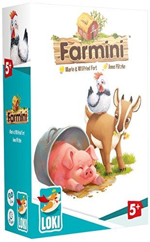Farmini - Bordspel - Win de beker voor mooiste boerderij van het jaar - Voor kinderen - Taal: Nederlands
