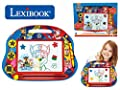 LEXIBOOK- Paw Patrol La Patrulla Canina Tablero de Dibujo magnético mágico Multicolor, Juguete Creativo artístico Muchachos, Pluma de la Aguja y Sellos, Azul/Roja por Lexibook