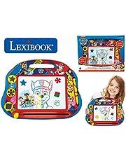 Lexibook CRPA550 Multicolor Magic Magnetische Paw Patrouille Tekenbord, Artistiek Creatief Speelgoed voor Meisjes en Jongens, Stylus Pen en Postzegels, Rood/Blauw