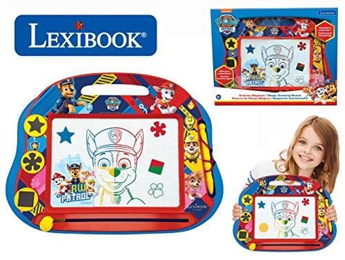 Lexibook- Ardoise Magique Multicolore Paw Patrol La Pat'Patrouille, Jouet Artistique et créatif...