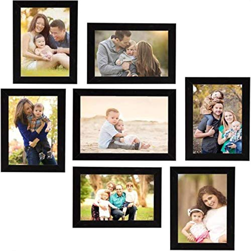Naraniya Creation Wood Photo Frames (Black)