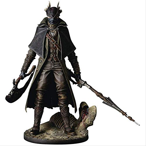 cheaaff Bloodborne The Old Hunters PVC Action Figure 30cm Gecco Scala 1/6 Hunter Figure Model Toys