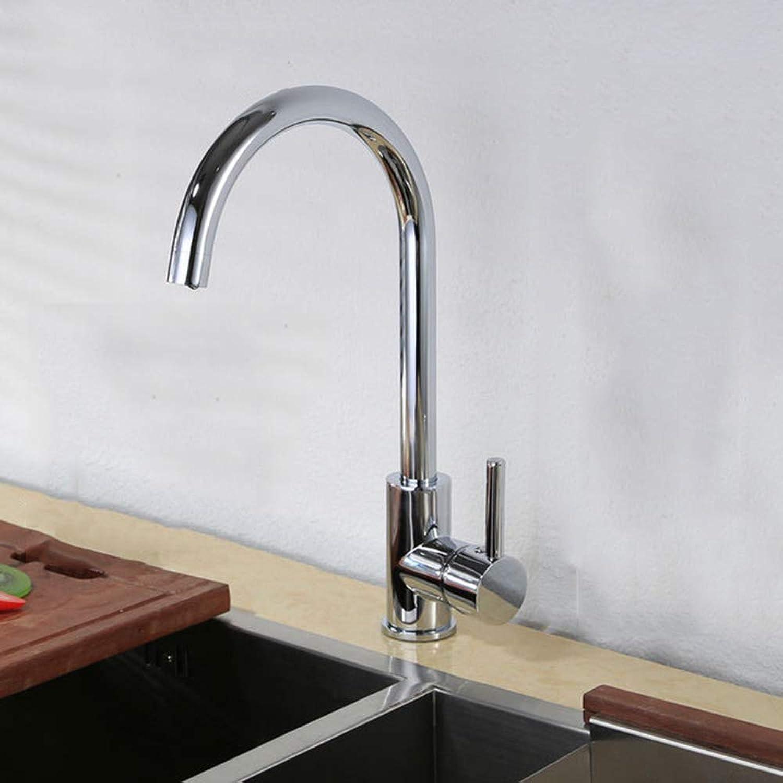 ZFXNB Berührungsloser Spültischarmatur, Einhebel-High-Arc-Pull-Down-Küchenarmatur mit Zwei Sensoren Modernes Design-Warm- und Kaltwasser-Mischbatterie
