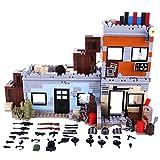 YVSoo Figurine Militaire Mini Figurines d'Armée Scène Jeu de Tir Station Défense du Désert Jeux de Construction Cadeau Anniversaire pour Lego Fans
