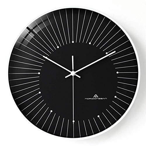 SLRMKK Taschenuhr, Moderne minimalistische Atmosphäre leichte Haushaltswanduhr kreative stumme Uhr europäische Taschenuhr (Farbe: 1)