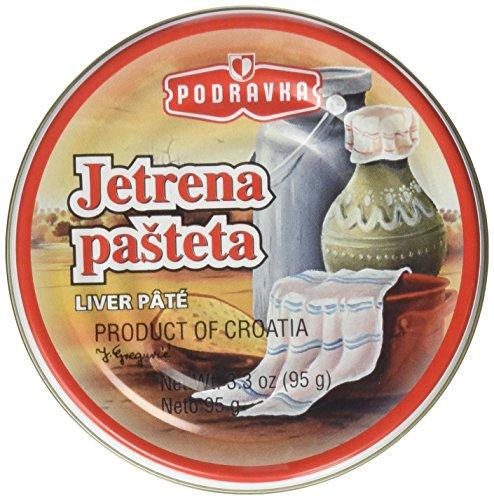Podravka Jetrena Pasteta 3.5 Oz Liver Pate (Pack of 2)