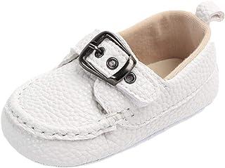 Weixinbuy Toddler Baby Boy Soft Sole Slip-On Loafer Boat Shoe Outdoor Walking Shoes First Walker