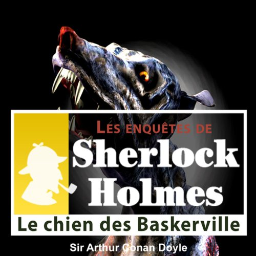 Le chien des Baskerville audiobook cover art