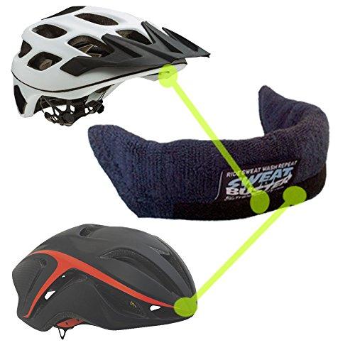 Sweat Buster TraxFactory The Original Navy Blue Bike Helmet Sweatband