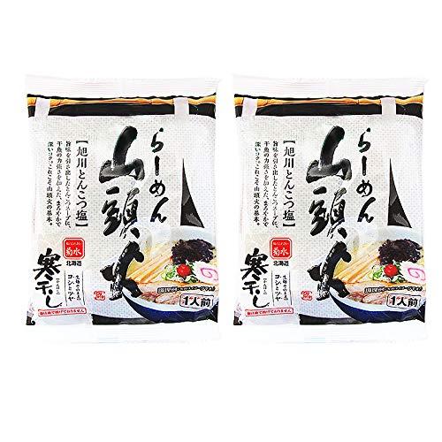 菊水 山頭火 とんこつラーメン 北海道 乾麺 2食セット 旭川 ラーメン さんとうか 送料 無料