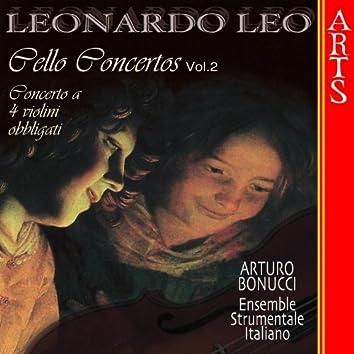 Leo: Concerti Per Violoncello, 2 Violini E Continuo - Vol. 2