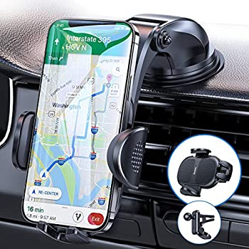 Anwas Universal Cell Phone Automobile Cradles Cup Holder Phone Mount