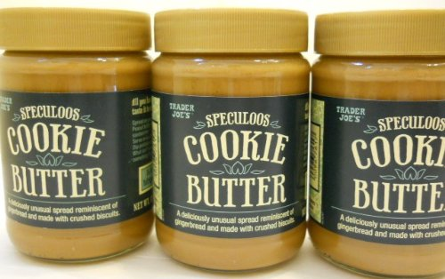 Set of 3 Trader Joe's Speculoos Cookie Butter