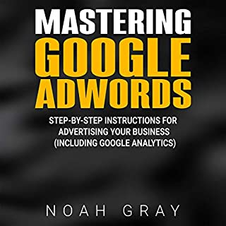 Mastering Google Adwords audiobook cover art