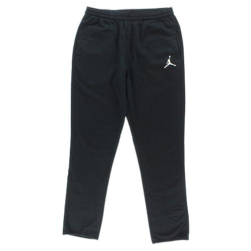 aa7d2d68c4a Jordan Nike Mens Jumpman Brushed Tapered Fit Sweatpants