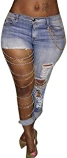Best ripped jeans with chains Reviews