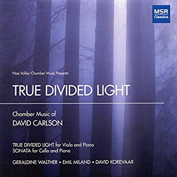 True Divided Light: Chamber Music of David Carlson