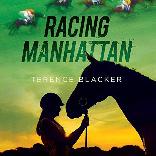 Racing Manhattan audiobook cover art