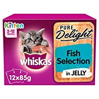 Junior cat food in jelly: Wet kitten food pieces for an enjoyable complete meal These tasty wet cat food pouches give your little kitten everything she naturally needs, keeping her happy and healthy Wet kitten food pouches with all the nutritional in...