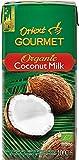 ORIENT GOURMET Leche de coco orgánica, contenido de grasa 17-19% 1000 g