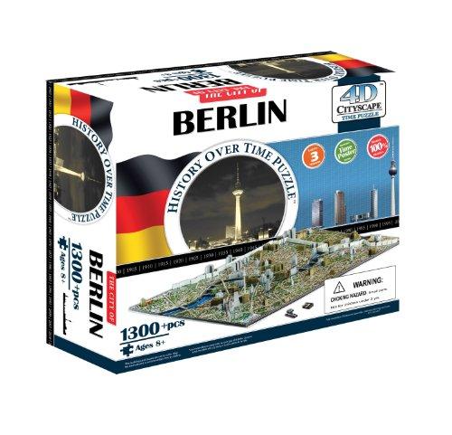 4D Berlin Cityscape Time Puzzle