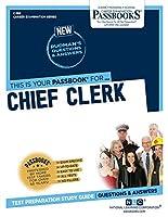 Chief Clerk (Career Examination)