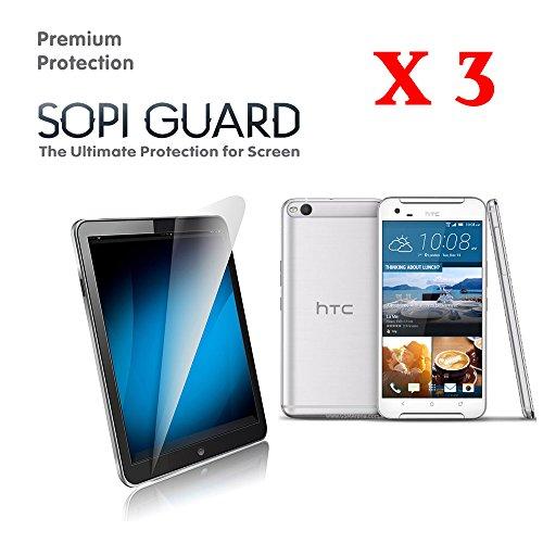 3 Pack HTC ONE X9 SopiGuard Premium Grade Screen Protector