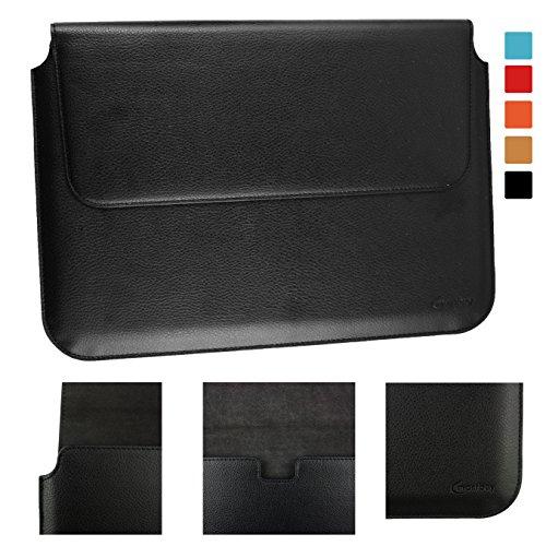 Emartbuy® Trekstor SurfTab Duo W3 2 in 1 Tablet PC 11.6 Zoll Schwarz PU Leder Magnetisches Kasten Folio Mappen Kasten Abdeckung Hülse (11.6 to 13.3 Zoll)