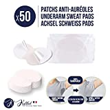 Kalibel - Coussinet anti Auréoles, 50 Patchs Anti Transpiration - Jetable, Invisible...