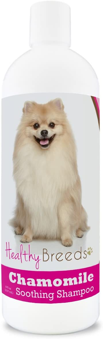 Healthy Breeds Pomeranian New products world's highest quality popular Chamomile Soothing 8 Ultra-Cheap Deals Dog Shampoo oz