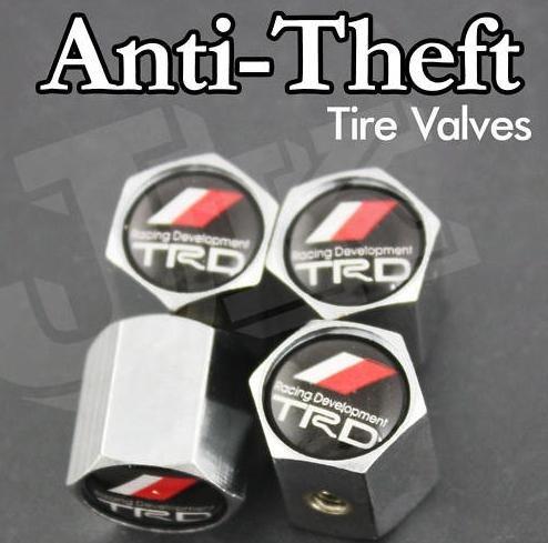 Carhot For TRD Anti-Theft Tire Valve Caps