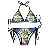 Flag of Belize Sexy Boxing Bikini Women...