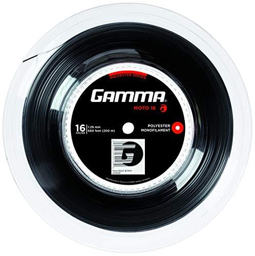 Gamma Moto Schwarz 17  1.24 Bild