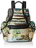 Desigual - Bols_explorer Victoria, Bolsos mochila Mujer, Verde (Musgo), 13x35x21 cm (B x H T)