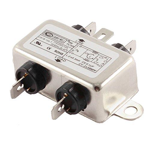 HLin AC 115//250V 30A CW4E-30A-S Noise Suppressor Power EMI Filter AC Power Line EMI Filter
